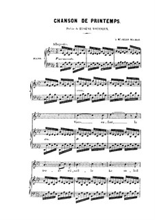 Chanson de printemps (Spring Song): Chanson de printemps (Spring Song) by Charles Gounod