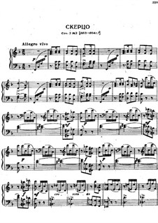 Souvenir de Hapsal, TH 125 Op.2: No.2 Scherzo by Pyotr Tchaikovsky
