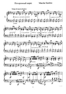 Twelve Pieces , TH 138 Op.40: No.3 Funeral March by Pyotr Tchaikovsky