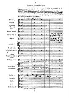 Suite No.2 in C Major, TH 32 Op.53: No.3 Scherzo burlesque by Pyotr Tchaikovsky