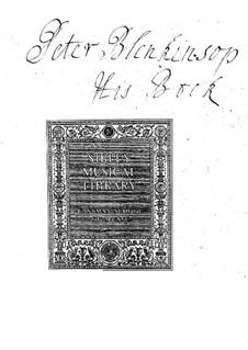 Calypso and Telemachus: Calypso and Telemachus by Johann Ernst Galliard