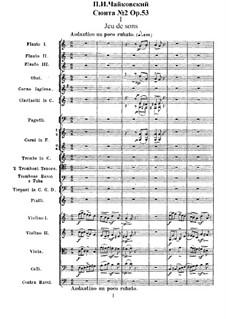 Suite No.2 in C Major, TH 32 Op.53: No.1 Jeu de sons by Pyotr Tchaikovsky