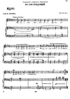 Six Romances, TH 98 Op.27: No.1 At Bedtime by Pyotr Tchaikovsky