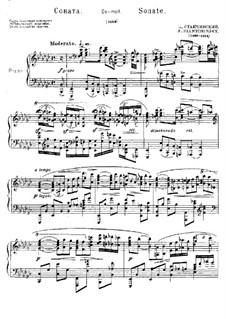 Sonata in E Flat Minor: Sonata in E Flat Minor by Alexei Stanchinsky