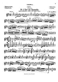 Violin-Terzette. Book III: violino parte I by Joseph Haydn, Wolfgang Amadeus Mozart, Franz Schubert, Felix Mendelssohn-Bartholdy, Carl Maria von Weber