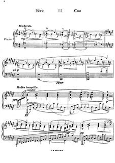 Three Pieces, Op.51: No.2 Rêve by Felix Blumenfeld