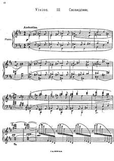 Three Pieces, Op.51: No.3 Vision by Felix Blumenfeld