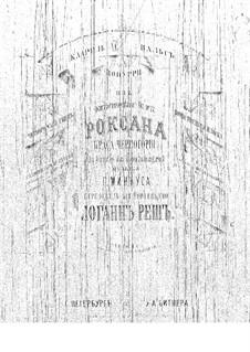 Potpourri on Themes from 'Roxana' by Minkus: valsa by Johann Resch