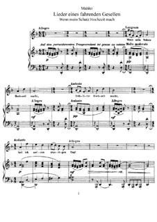 Vocal Works: trabalho de vocais by Gustav Mahler