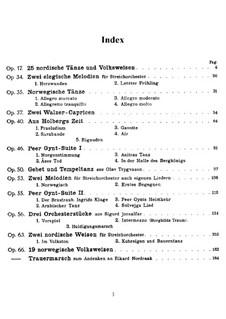 Selected Works: trabalhos selecionados by Edvard Grieg
