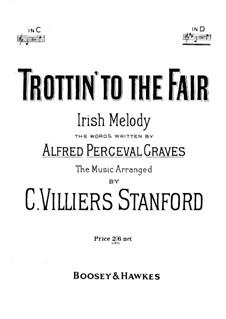 Trottin' to the Fair. Irish Melody: Trottin' to the Fair. Irish Melody by folklore