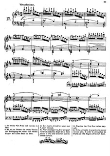 Tausig Edition: Estudo No.17 by Muzio Clementi