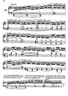 Tausig Edition: Etude No.19 by Muzio Clementi