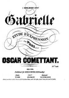 Gabrielle. Étude d'expression: Gabrielle. Étude d'expression by Jean-Pierre Oscar Comettant