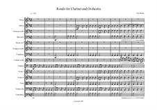 Rondo for Clarinet and Orchestra: Rondo for Clarinet and Orchestra by Neil Munro
