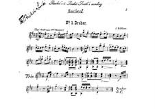 Duet 'Dreher' for Two Guitars: Duet 'Dreher' for Two Guitars by Joseph Küffner