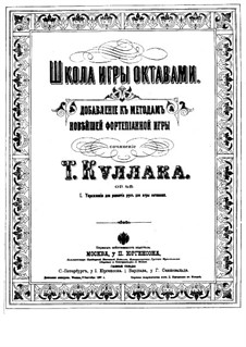 The School of Octave Playing, Op.48: livro I by Theodor Kullak