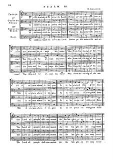 Psalm No.113 'Ye Children Which do Serve the Lord': Psalm No.113 'Ye Children Which do Serve the Lord' by Richard Allison