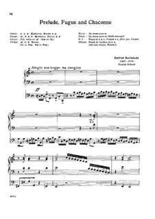 Prelude for Organ in C Major, BuxWV 137: para um único musico (Editado por H. Bulow) by Dietrich Buxtehude