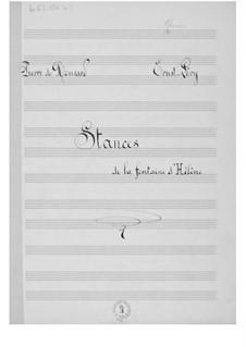 Stances de la fontaine d'Hélène (A Major): G maior by Ernst Levy