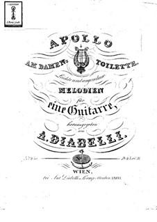 Apollo at the ladies' room. Light and pleasant melodies. Book IV: Apollo at the ladies' room. Light and pleasant melodies. Book IV by Anton Diabelli