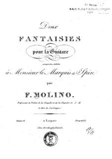 Two Fantasias, Op.13: Para Guitarra by Francesco Molino