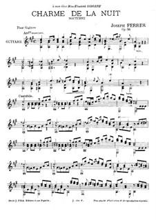 Charme de la nuit, Op.36: Charme de la nuit by José Ferrer