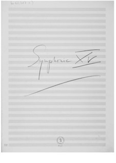 Symphony No.15: esboços dos compositores by Ernst Levy