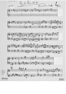 Piece for Piano No.17: Piece for Piano No.17 by Ernst Levy