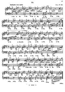 Seks pedalstudier (Six Pedal-Etudes), Op.27: Etude No.3 in A Major by Edmund Neupert