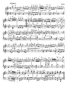 Twelve Short Pieces: No.2 Allegro by Joseph Haydn