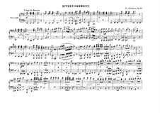 Divertissement on French Themes, D.823: No.1 Tempo di marcia, Op.63 by Franz Schubert