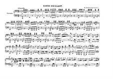 Divertissement on French Themes, D.823: No.3 Rondeau Brillant, Op.84 by Franz Schubert