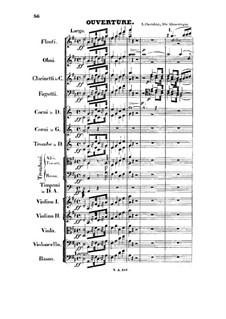 Les Abencérages (The Abencerrages). Overture: Les Abencérages (The Abencerrages). Overture by Luigi Cherubini