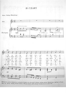 Czary (Enchantment), B.51 KK IVa/11: Czary (Enchantment) by Frédéric Chopin