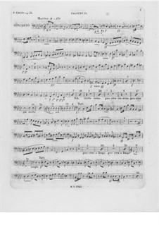 Partitura completa: fagote parte II by Frédéric Chopin