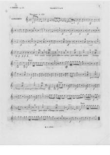 Partitura completa: trompeta parte I by Frédéric Chopin