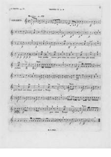 Partitura completa: Trompete II parte by Frédéric Chopin