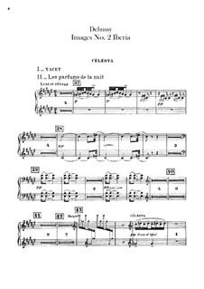 Set III, No.2 Iberia, L.122: Celestas part by Claude Debussy