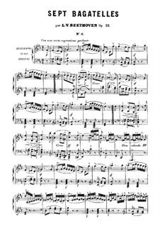 Bagatelles, Op.33: Bagatelle No.6 by Ludwig van Beethoven