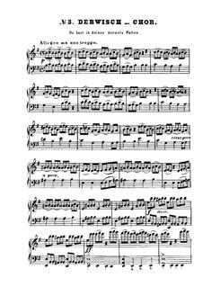 Derwisch Choir: Para Piano by Ludwig van Beethoven