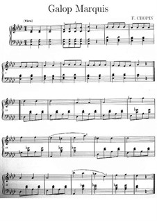Galop in A Flat Major, KK IVc/13: Galop in A Flat Major by Frédéric Chopin