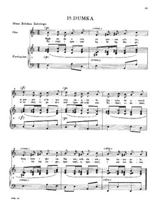 Rêverie (Dumka), B.132 KK IVb/9: Rêverie (Dumka) by Frédéric Chopin