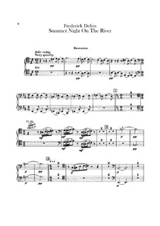 Summer Night on the River: parte Fagotes by Frederick Delius
