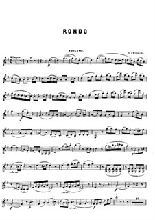 Rondo in G Major: Rondo em G Maior by Ludwig van Beethoven