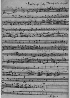 Violin Concerto in C Major – Violin Part: Violin Concerto in C Major – Violin Part by Andrea Baghetti