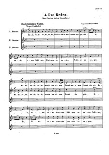 Two Canons, WoO 168: Two Canons by Ludwig van Beethoven