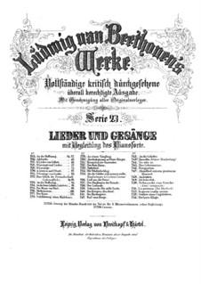 Im Arm der Liebe ruht sich's wohl, WoO 159: Im Arm der Liebe ruht sich's wohl by Ludwig van Beethoven