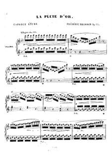 La pluie d'or, Op.25: La pluie d'or by Frédéric Brisson