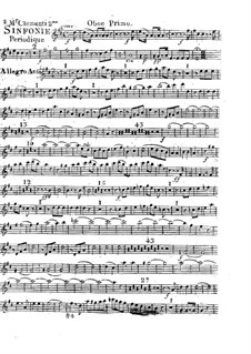 Symphony No.2 in D Major, Op.18: Oboe parte I by Muzio Clementi